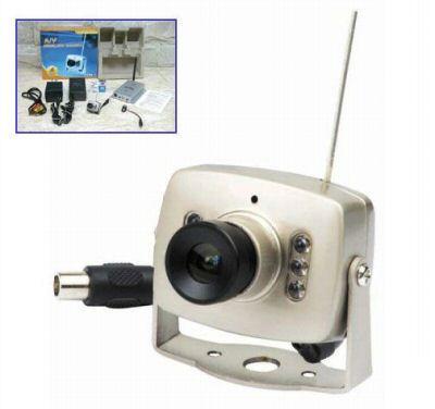 Camara vigilancia inalambrica audio video color 2 4ghz for Camara vigilancia inalambrica