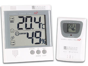 Termometro higrometro interior exterior inalambrico de 3 - Termometro interior exterior ...