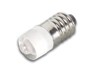 LAMPARA LED CON CASQUILLO E10 5mm 12V BLANCO -