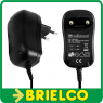 ALIMENTADOR CARGADOR CONMUTADO 15VDC 800MA 12W MAX CONECTOR 2.1X5.5MM BD3687 -