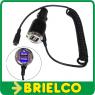 ALIMENTADOR CARGADOR PARA MECHERO COCHE SALIDA 2X USB 5V 2A Y MICRO USB BD9309 -
