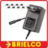 ALIMENTADOR ELECTRONICO CARGADOR 100-240VAC A 12VDC 2A JUEGO CONECTORES BD4743 -