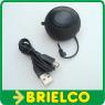 ALTAVOZ AMPLIFICADO MINIATURA PORTATIL MOVIL TABLET MP3 JACK 3.5MM NEGRO BD4920 -