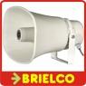 ALTAVOZ EXPONENCIAL BOCINA MEGAFONIA SONORIZACION PA LINEA 100V 30W RMS BD9853 -