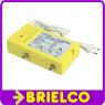 AMPLIFICADOR ANTENA INTERIOR PARA TV CABLE 1E 1S CON LINEA RETORNO ACTIVO BD6488 -