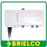 AMPLIFICADOR DE ANTENA TV INTERIOR 2 SALIDAS 25DB FILTRO MOVILES 5G ENGEL BD6525 -