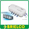 AMPLIFICADOR DE ANTENA TV INTERIOR 2 ENTRADAS 4 SALIDAS UHF 18dB ENGEL BD6524 -
