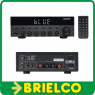 AMPLIFICADOR HI-FI ESTEREO 15+15W RMS BLUETOOTH USB FM MANDO DISTANCIA BD8569 -