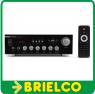 AMPLIFICADOR HIFI 2X15W RMS A 4 OHM KARAOKE 220V 12V USB SD FM BLUETOOTH BD8571 -