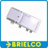AMPLIFICADOR INTERIOR ANTENA 220V 2 SALIDAS GANANCIA 20DB FILTRO LTE 4G BD10642 -