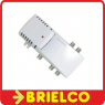 AMPLIFICADOR INTERIOR ANTENA 220V 4 SALIDAS GANANCIA 20DB FILTRO LTE 4G BD7292 -