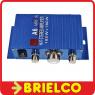AMPLIFICADOR MINI STEREO HIFI 12VDC 180W+180W MAX AGUDOS GRAVES VOLUMEN BD11750 -