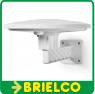 ANTENA EXTERIOR HD TV FM/VHF/UHF 46dB 0-50KM BLANCA FILTRO 4G MOVILES BD6385 -