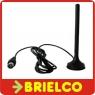 ANTENA TV 11CM MINIATURA BASE MAGNETICA TDT DMB PARA COCHE CONECTOR IEC M BD9326 -