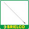 ANTENA VHF MOVIL 100CM ACERO INOXIDABLE CONECTOR PL 5/8 ONDA 138-174MHZ BD6666 -