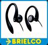 AURICULARES PHILIPS GANCHO FLEXIBLE ERGONOMICO OREJA IMPEDANCIA 16 OHMIOS 1,2M BD9348 -