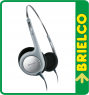 AURICULARES ULTRALIGEROS HIFI PHILIPS DIADEMA AJUSTABLE CABLE 1.2M 3.5MM BD5212 -
