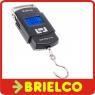 BASCULA BALANZA DIGITAL CON GANCHO MAX 50KG 10GR PESAR MALETA EQUIPAJE BD9310 -