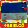 BATERIA DE PLOMO 12V 1.2A SIN MANTENIMIENTO TIPO GEL 97X43X52MMJUGUETERIA BD2680 -