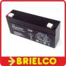 BATERIA DE PLOMO 6V 3.3A SIN MANTENIMIENTO TIPO GEL 133X60X34MM BD753 -