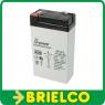 BATERIA DE PLOMO AGM 6V 3,3A SIN MANTENIMIENTO 66X115X32,5MM BD10411 -
