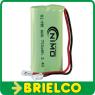BATERIA PILA RECARGABLE PACK 2XAAA 2,4V 700MA NI-MH CABLE CONECTOR BD10418 -
