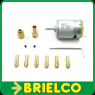 MINI MOTOR PARA TALADRO 10 BROCAS 0,8-2,5MM 4 PINZAS 2,3MM 12V  BD10211 -