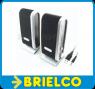 ALTAVOCES MULTIMEDIA PC PORTATIL TV USB RMS 1WX2CH 45DB 2X2,5 PULGADAS BD123 -