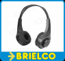 AURICULARES MP3 MULTIFUNCION RANURA TF RECARGABLE ALMACENAMIENTO 8GB BD2905 -