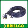 CONEXION 2X2 RCAS MACHO Y CABLE REMOTE ETAPA AUTO 10M BD3506 -