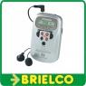 RADIO DIGITAL DE BOLSILLO THOMSON RT212B Y AURICULARES 20 MEMORIAS LCD BD3896 -