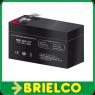 BATERIA PLOMO ACM 12V 1,3 A 98X50X42MM PESO 570 GR BD3901 -