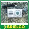 RADIO DIGITAL DE BOLSILLO AM-FM COMPACTA AURICULARES TMRAT015 2AAA LCD BD3904 -