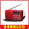RADIO DIGITAL USB MP3 PLAYER GRABADOR VOZ RADIO AM/FM 50 PRESINTONIAS BD3911 -