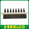 BOTONERA 8 TECLAS DISTANCIA 10MM TERMINALES DOBLES 3.5x5MM 2CP10CNF10 BD4734 -