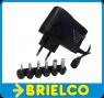 ALIMENTADOR ADAPTADOR CARGADOR ELECTRONICO 600MA 6 CONECTOR ENT 240VAC BD5347 -