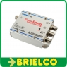 AMPLIFICADOR ANTENA INTERIOR PARA TV CABLE 1E 3S 220VAC 3X11DB 70x55x32MM BD6643 -
