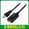 CABLE USB 3.0 CON AMPLIFICADOR 5M VELOCIDAD TRANSFER 5GBPS CONEXION M-H BD6687 -