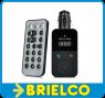 KIT MANOS LIBRES COCHE BLUETOOTH MOVIL FMRADIO INALAMBRICO REPRODUCTOR MP3 BD678 -