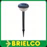 LAMPARA PLACA SOLAR DE JARDIN TIPO ESTACA LUZ AUTOMATICA NOCHE 1 LED 40CM BD7551 -