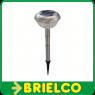LAMPARA PLACA SOLAR JARDIN TIPO ESTACA LUZ AUTOMATICA NOCHE 1 LED 40CM BD7552 -
