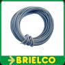 CABLE CONEXION FLEXIBLE PVC COBRE ESTAÑADO  0,25MM2x10 METROS GRIS   BD7909 -