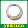 CABLE CONEXION FLEXIBLE PVC COBRE ESTAÑADO  0,25MM2x10 METROS BLANCO   BD7910 -