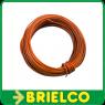 CABLE CONEXION FLEXIBLE PVC COBRE ESTAÑADO  0,25MM2x10 METROS NARANJA   BD7914 -