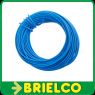 CABLE CONEXION FLEXIBLE PVC COBRE ESTAÑADO  0,25MM2x10 METROS AZUL BD7917 -