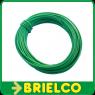 CABLE CONEXION FLEXIBLE PVC COBRE ESTAÑADO  0,25MM2x10 METROS VERDE BD7918 -