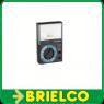 MULTIMETRO ANALOGICO DE BOLSILLO 5 FUNCIONES 16 ESCALAS 100x64x35MM BD9334 -
