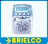 RADIO DIGITAL BOLSILLO AM-FM ESTEREO AUTOMATICA PANTALLA LCD AURICULARES BD9372 -