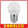 BOMBILLA BAJO CONSUMO ESFERICA G45 A LED 6W 505LM E27 LUZ BLANCA 5000K BD5372 -
