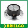 BOTON MANDO DIAL GRADUADO 15X24MM D37MM EJE D6,35MM TERNILLO BD6680 -